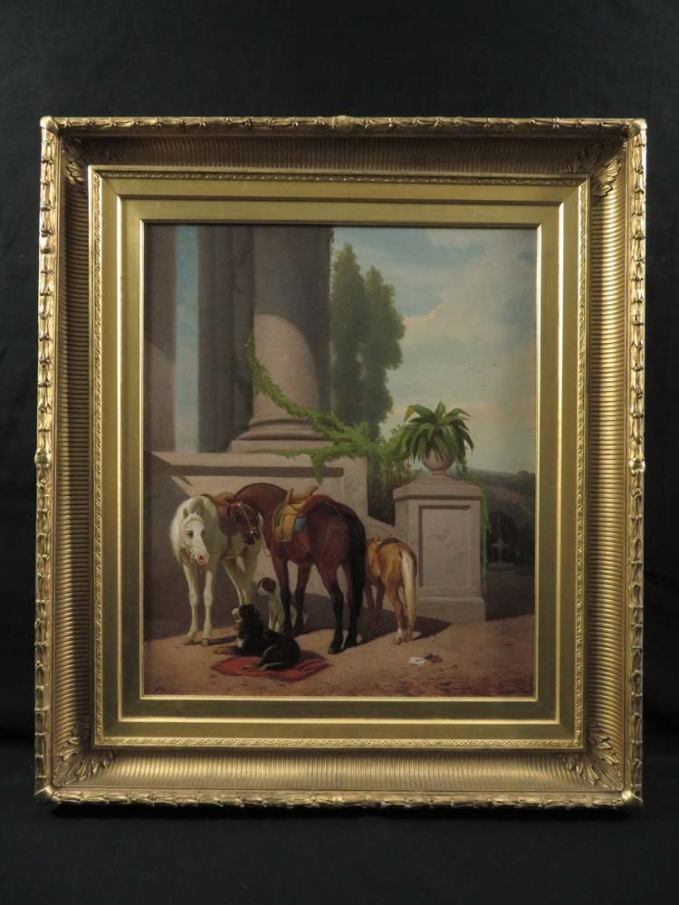Peter Moran Horses & Dogs Grand House