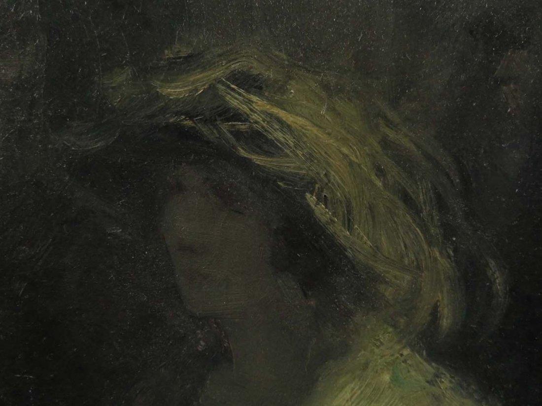 H Heyligers Impressionist Café Scene w/ Women - 7