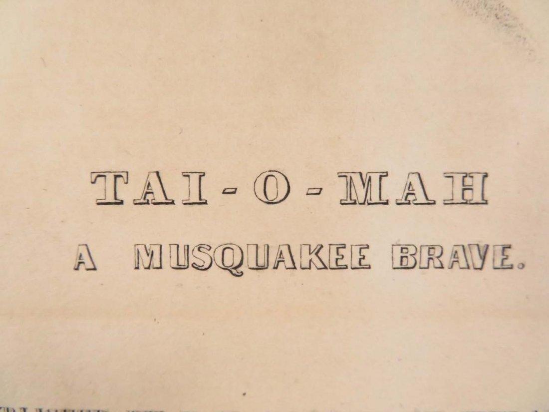 "McKenney Hall Greenough ""Tai-O-Mah A Musquakee Brave"" - 4"
