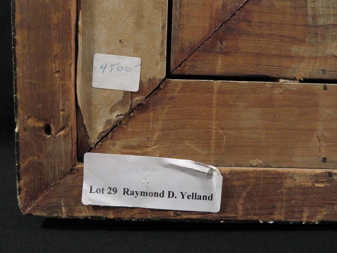 Attributed Raymond Yelland CA Rocky Coast - 9