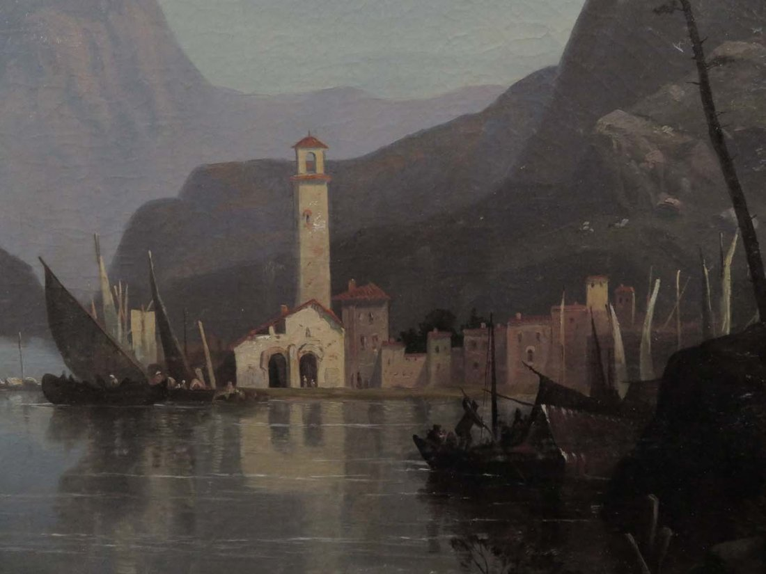 Early 1858 AT Bricher LG Lake Maggiore Italy - 3