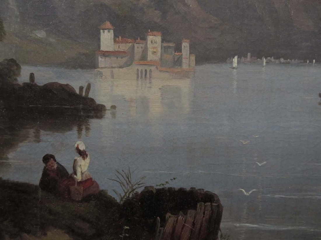 Early 1858 AT Bricher LG Lake Maggiore Italy - 4