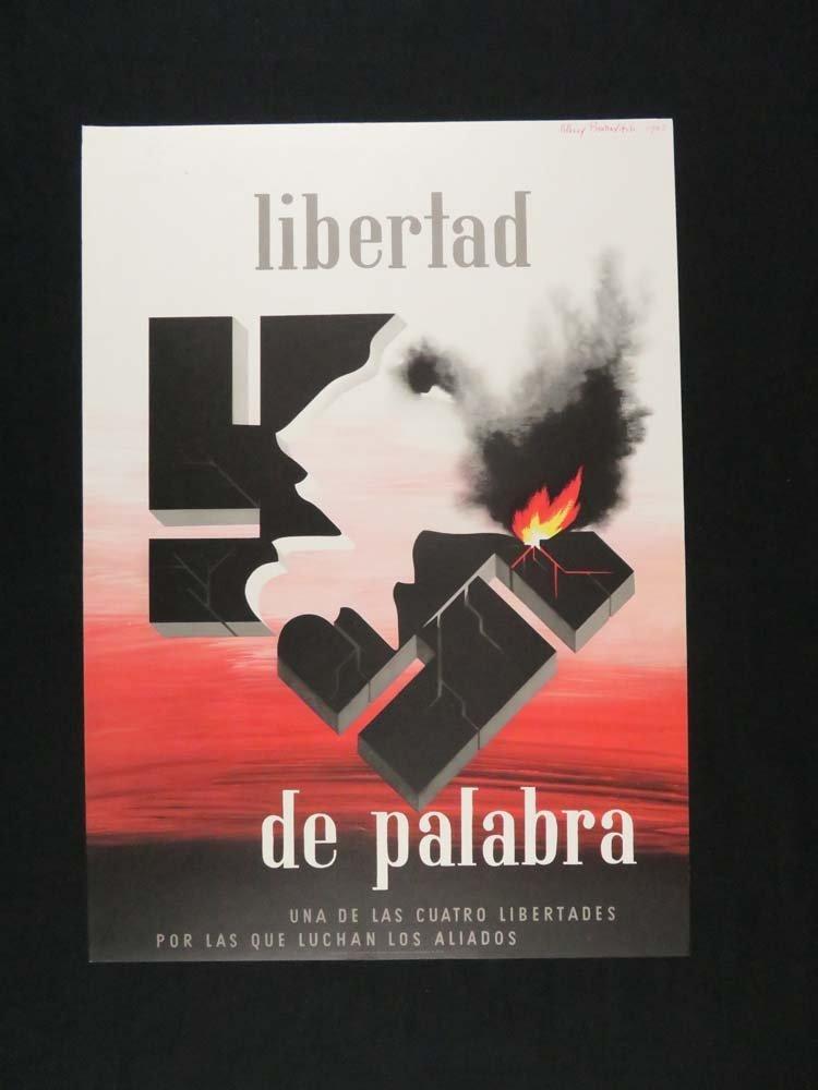 Alexey Brodovitch Libertad De Palabra WWII Political