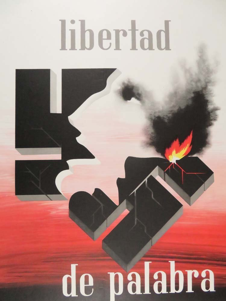 Alexey Brodovitch Libertad De Palabra WWII Political - 2