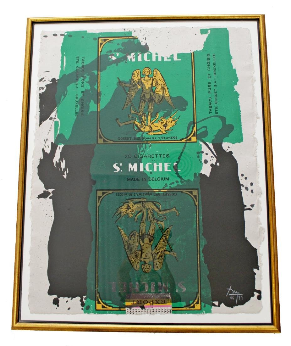 St Michael III Lithograph by Robert Motherwell