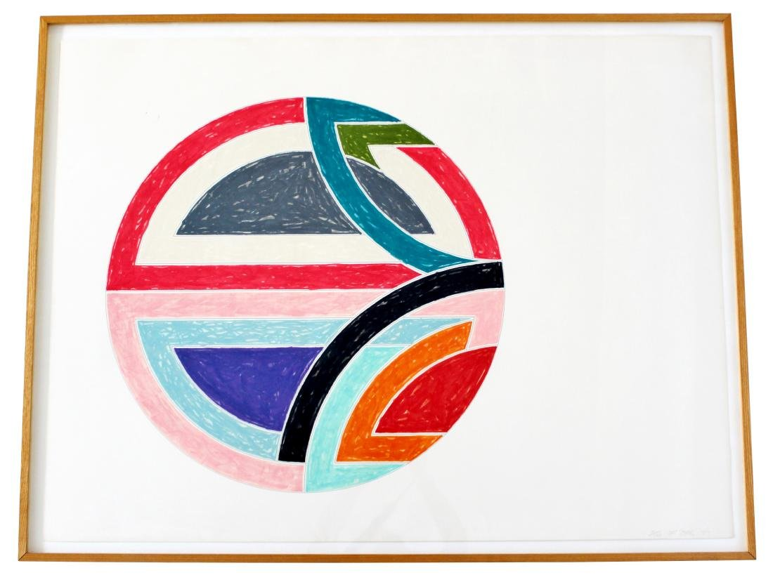 Frank Stella Sinjerli Variations 1A Signed Lithograph