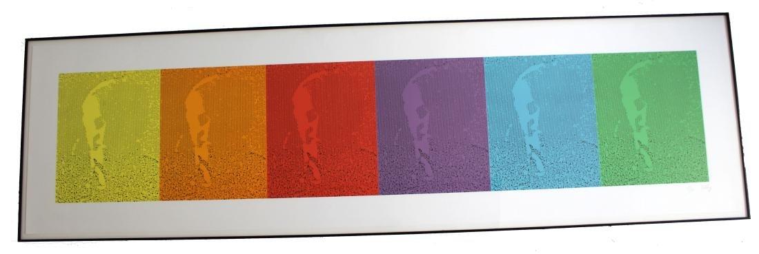 Spectrum EK by Ellsworth Kelly 12 Color Lithograph