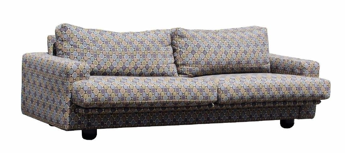 Dellarobbia Long Sofa Couch Italian Style 1980\'s