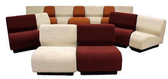 Never Ending Sectional Sofa Don Chadwick Herman Miller