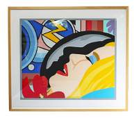 Contemporary Bedroom Face Tom Wesselmann Numbered 5/60