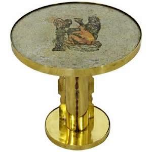 Mid Century Modern Philip Kelvin Laverne Brass Signed
