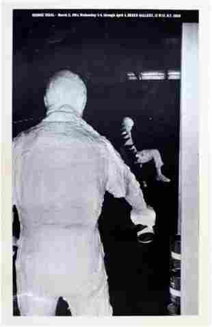 Vintage George Segal Green Gallery 1964 Poster