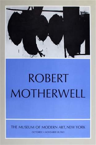Robert Motherwell Museum of Modern Art 1965 Poster