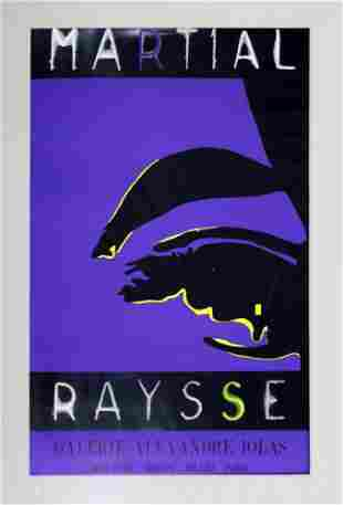 Martial Raysse Galerie Alexandre Iolas Poster