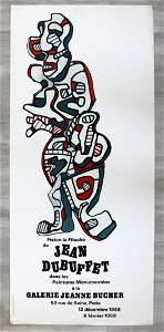 Jean Dubuffet Galerie Jeanne Bucher Paris 1969 Poster