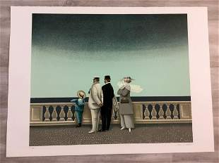 By the Sea, By the Sea Jan Balet Hand-Signed Lithograph