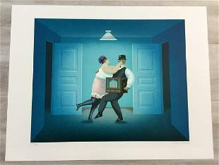 Chamber Music Jan Balet Hand-Signed Lithograph