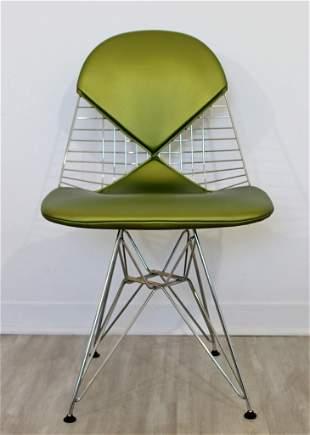 Original Eames Chrome Bikini Side Accent Chair by DWR