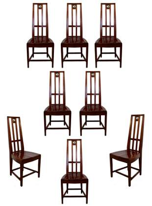 Traditional Set of 8 Side Cranbrook Dining Chairs