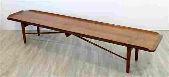 Finn Juhl for Baker Model 406 Coffee Table Bench Seat