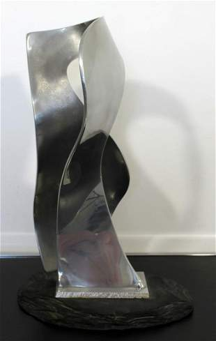 James Nani Global 79 Abstract Aluminum Modern Scultpure