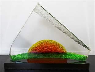 James Nani Dawn 9 Mod Orange/Yellow/Green Lucite