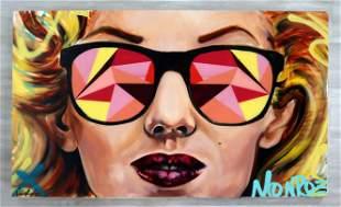 Desiree Kelly Marilyn Contemporary Acrylic Painting