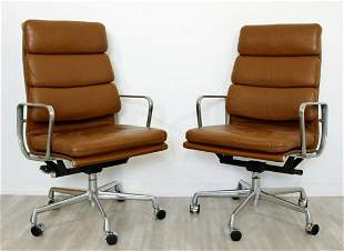 Modernist Set 4 Eames Herman Miller Rolling Office