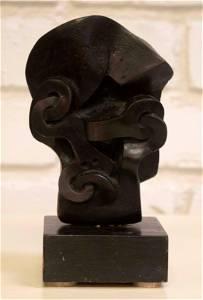 Sorel Etrog Untitled Abstract Bronze Sculpture