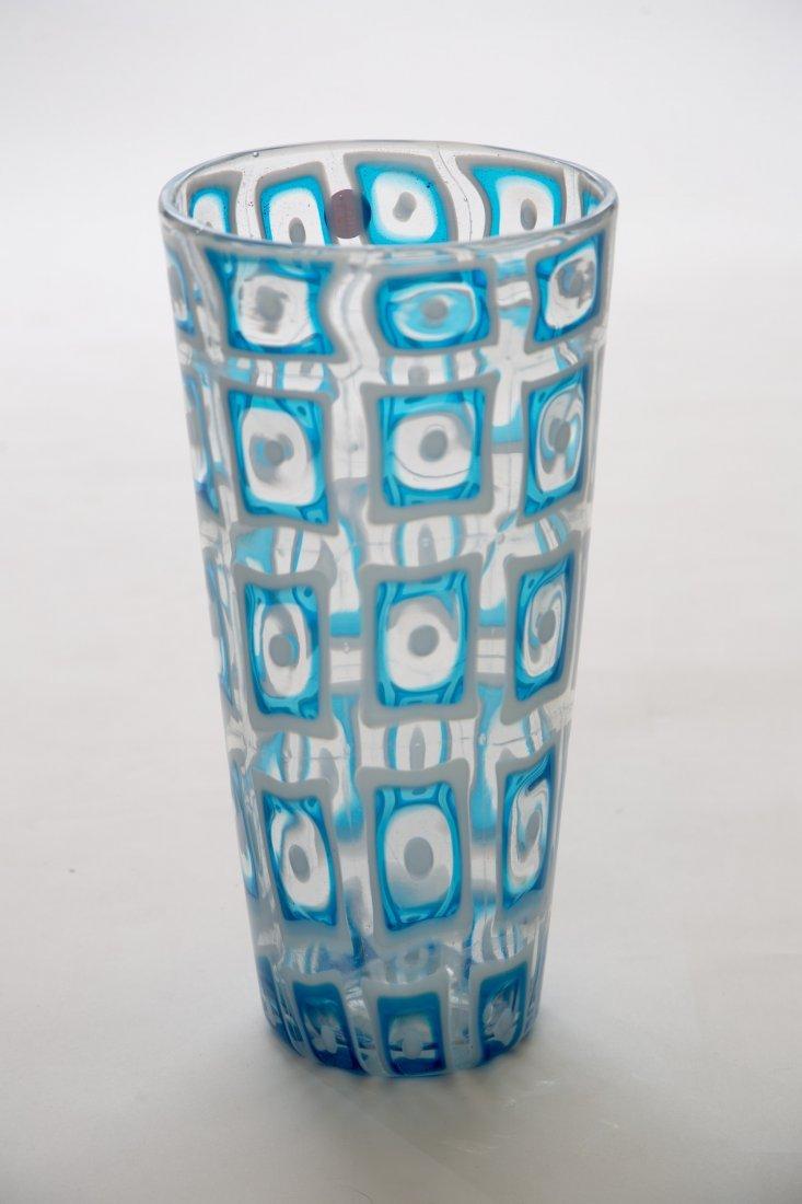 Ercole Barovier Dorico Acqamare Murano Vase