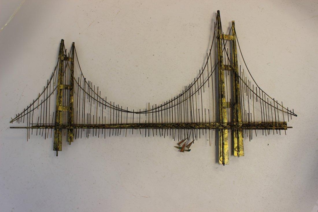 Curtis Jere Bridge Signed & Dated 1970