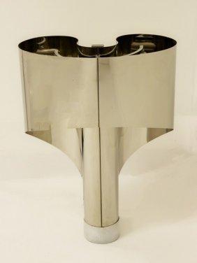 Stilnovo Chrome Italian Table Lamp