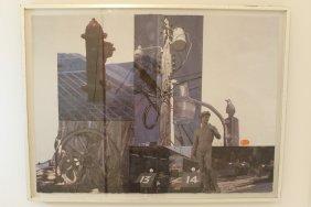 """""""restoration"""" Robert Rauschenberg"""