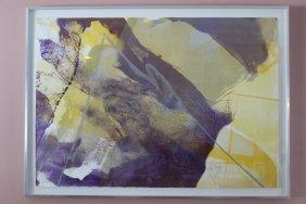 Paul Jenkins Watercolor Lithograph 7/75