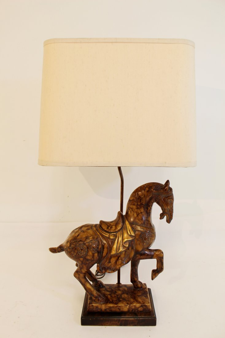 frederick cooper tang horse table lamp
