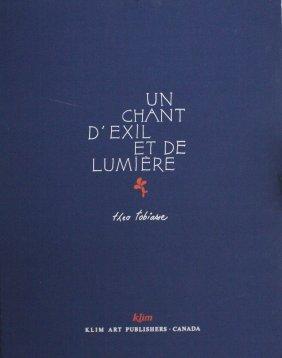Un Chant D' Exil Et De Lumiere By Theo Tobiasse
