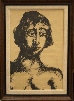 Portrait By Mane Katz