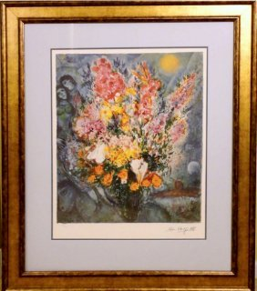 Flowers By Marc Chagall