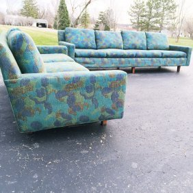 Pair Of Original Milo Baughman For Thayer Coggin Sofa