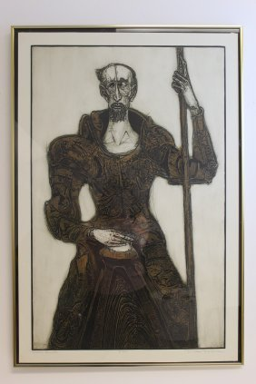 "Dean Jackson Meeker Signed ""don Quixote"" Etching"