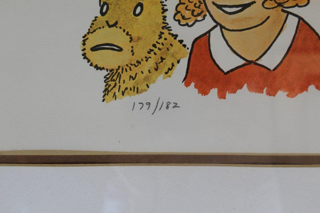 Signed Frank Lohan Dick Tracy Dagwood Annie Comic Art - 7