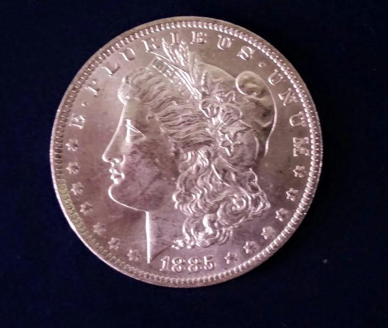 1885-O Morgan Silver Dollar (ERROR)