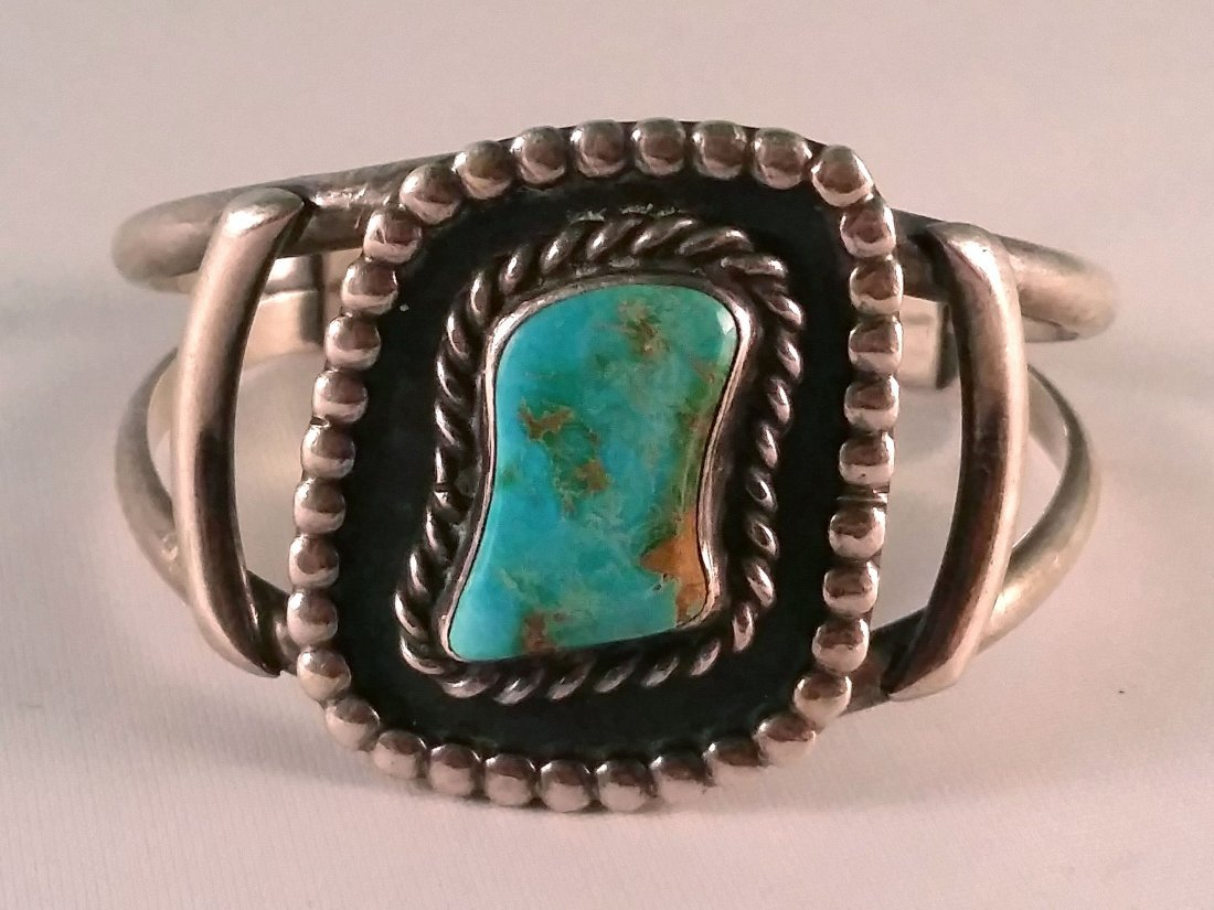 Turquoise Bracelet. Another beauty from old time