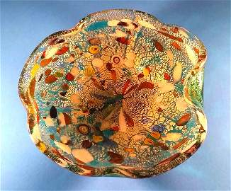 Large Murano Candy Dish