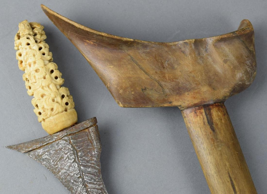 Late 19th C. Kris Java Indonesia Knife - 3