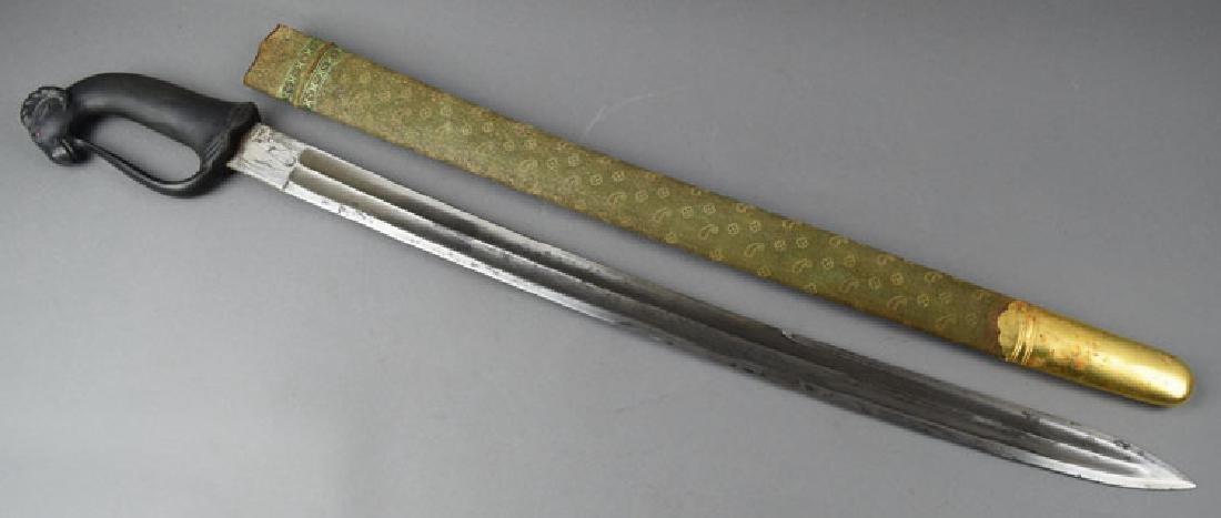 Early 20th Century Arab Sword with Ram Head - 2