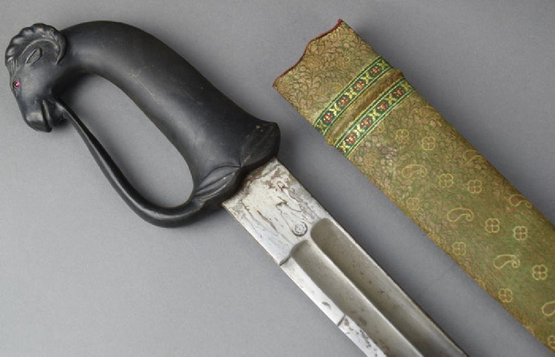 Early 20th Century Arab Sword with Ram Head - 5