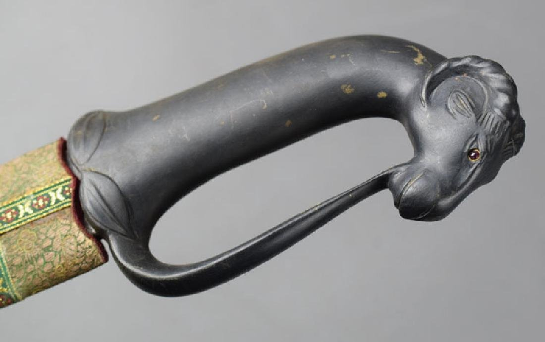 Early 20th Century Arab Sword with Ram Head - 7