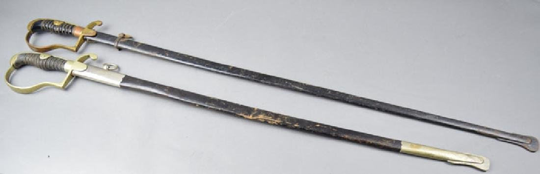 Lot of Two  German WWI Period Swords