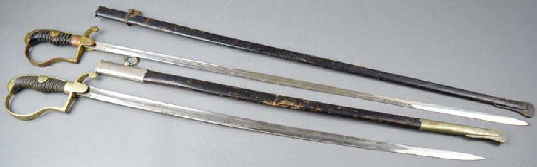 Lot of Two  German WWI Period Swords - 2